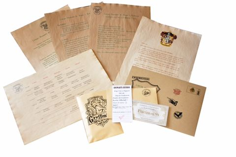 Pack Deluxe Harry Potter Carta Hogwarts