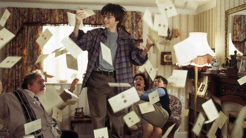 Carta Hogwarts Harry Potter
