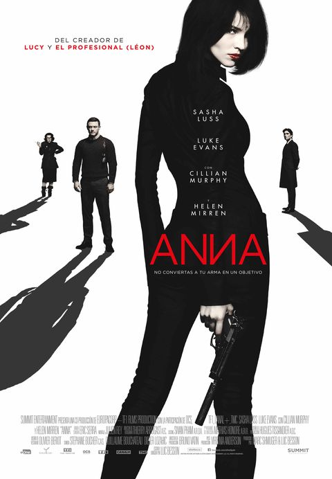 'Anna', clip exclusivo del regreso a la dirección de Luc Besson