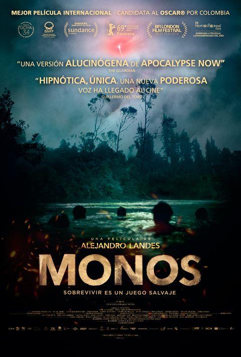 """Cartel de """"Monos"""""""