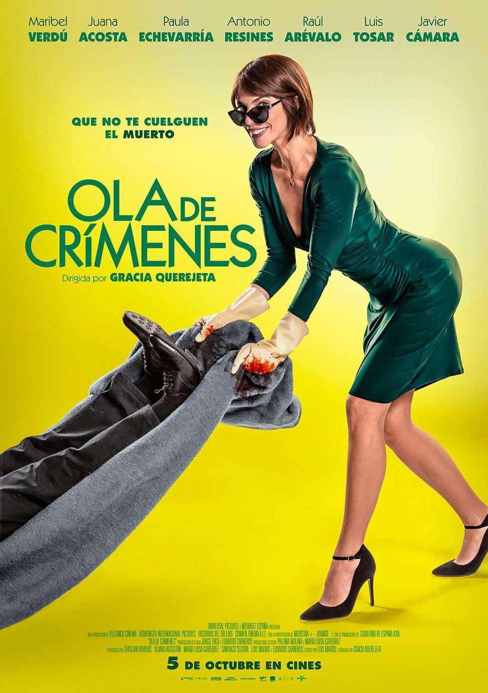 Ola de crímenes Tráiler - Ola de crímenes, la nueva comedia de Gracia Querejeta con Maribel Verdú