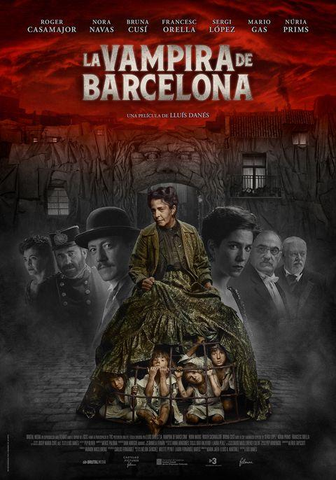 """cartel de """"la vampira de barcelona"""""""