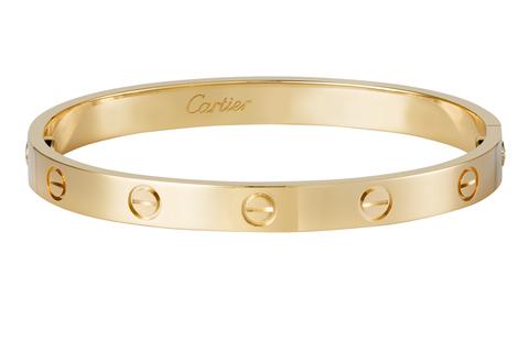 beni di consumo qualità e quantità assicurate allacciarsi dentro Bracciale Love Cartier: il gioiello icona simbolo dell'amore