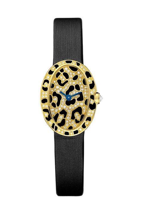 Analog watch, Watch accessory, Watch, Strap, Fashion accessory, Jewellery, Beige, Gold,