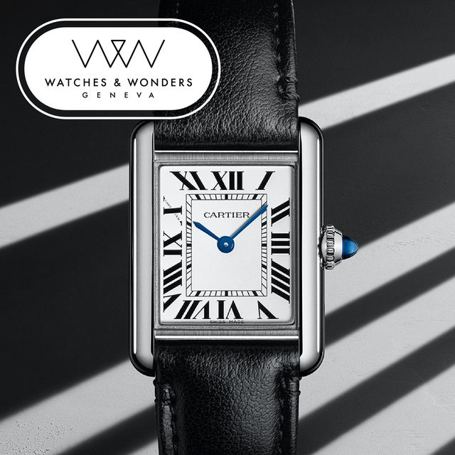 cartier tank watches and wonders 2021
