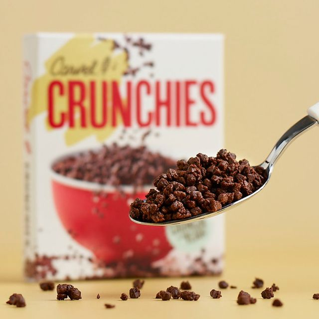 carvel crunchies chocolate cereal