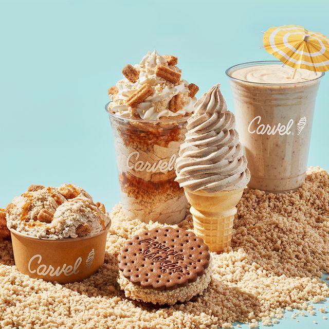 carvel churro crunchies ice cream treats