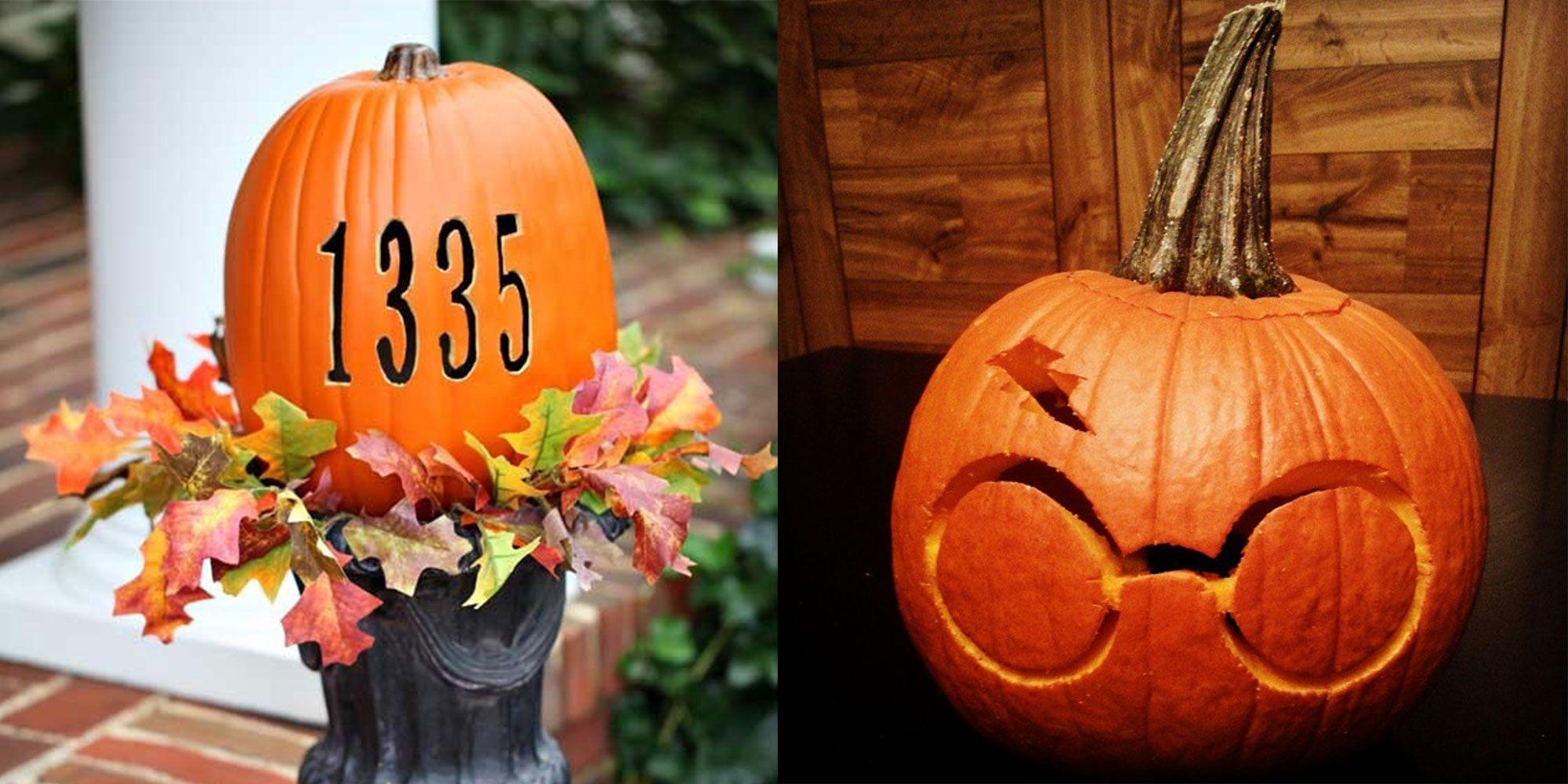 30 creative halloween pumpkin carving ideas awesome jack o rh delish com pics of carved halloween pumpkins pics of carved halloween pumpkins