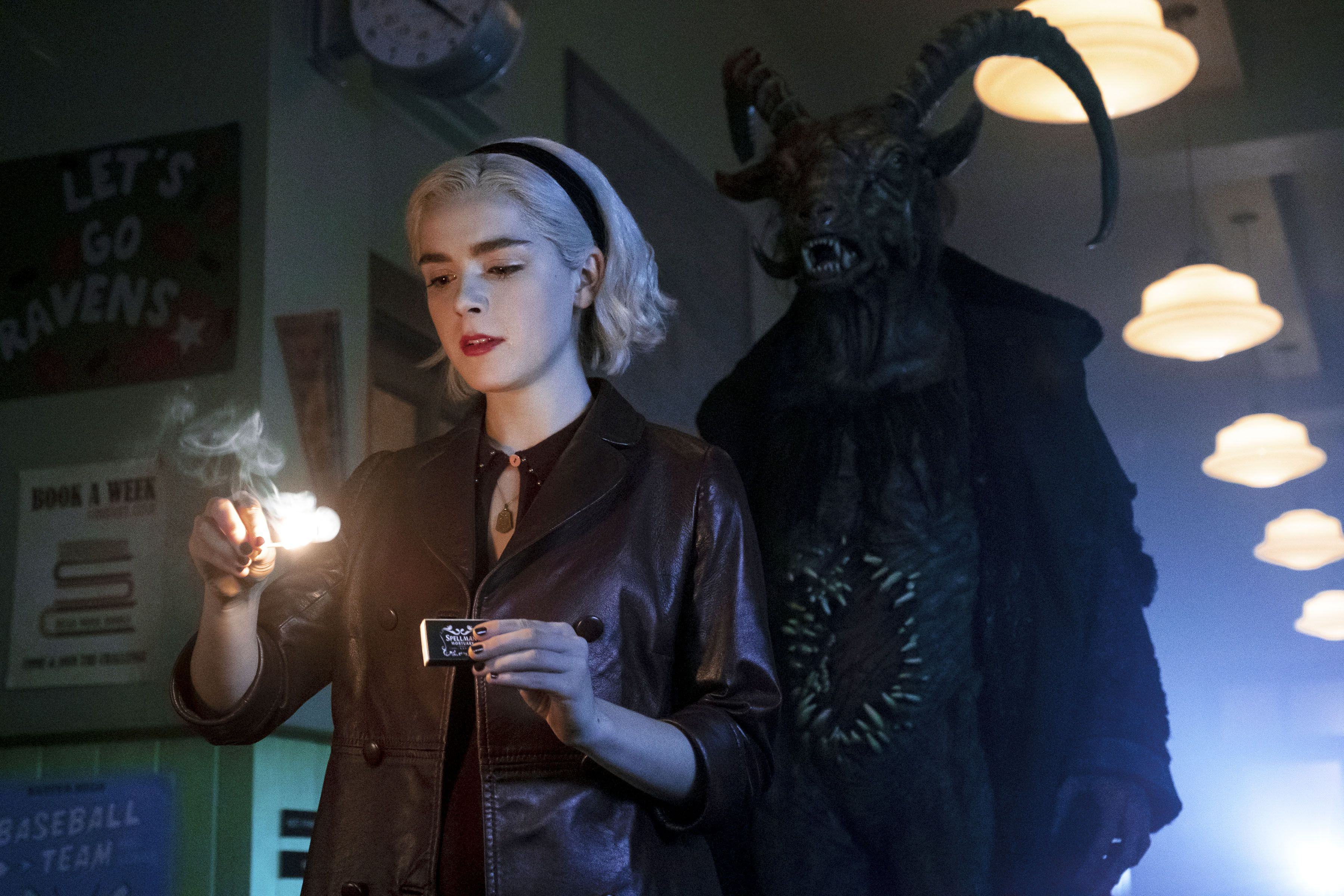 Watch the New Trailer for Chilling Adventures of Sabrina Part 2