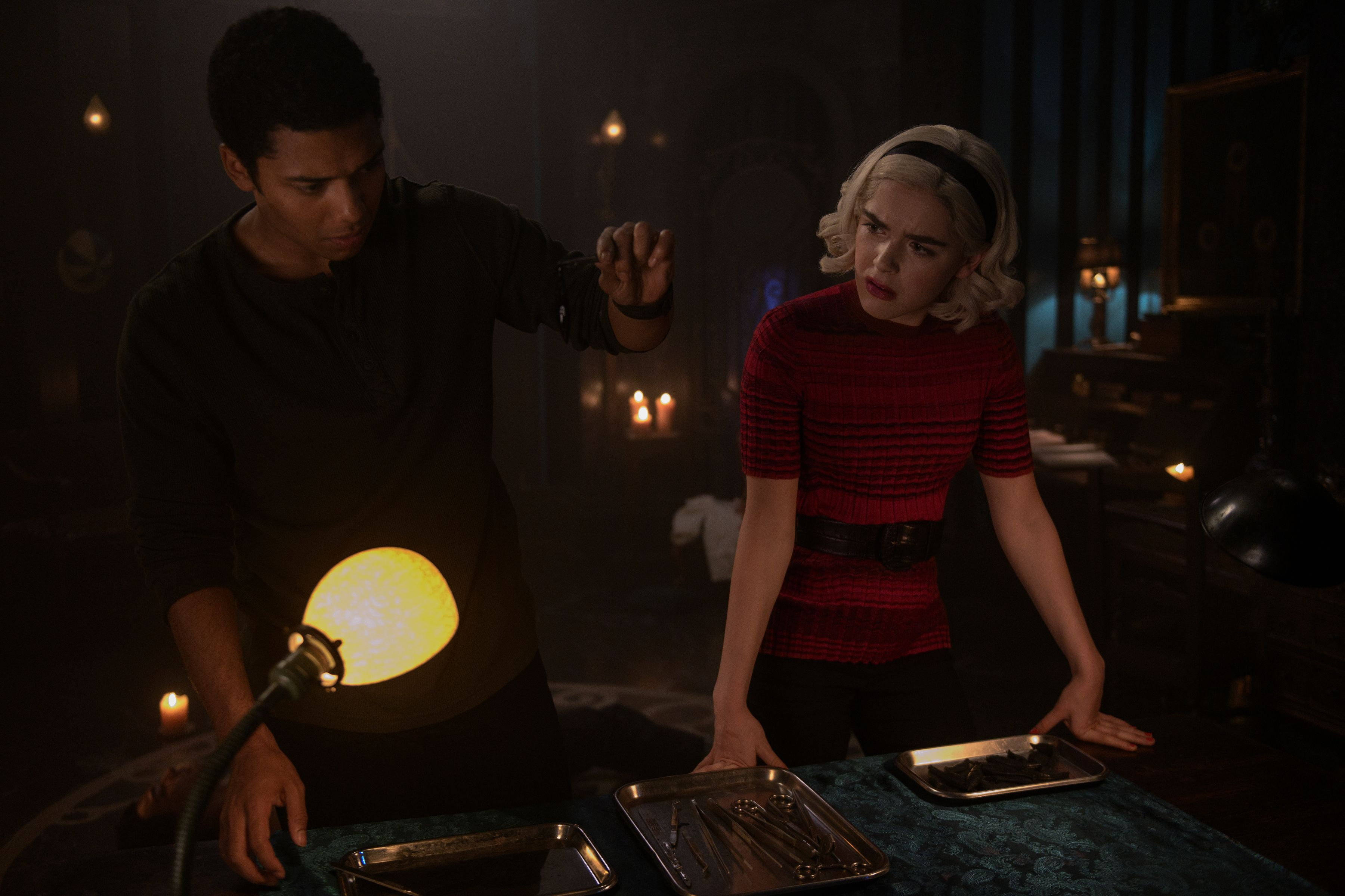Image result for chilling adventures of sabrina riverdale