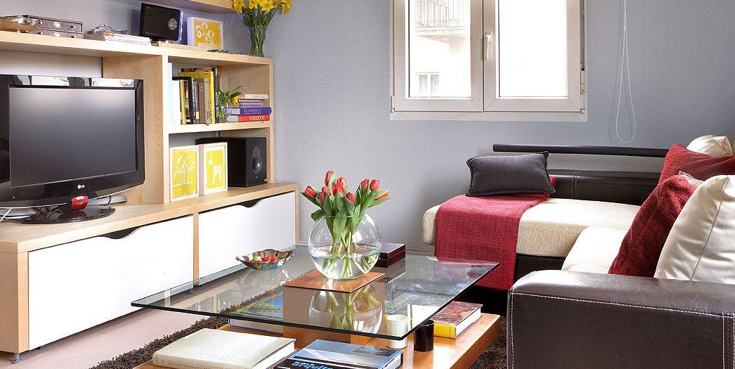 Ambientes de la casa reforma en una casa de 50 metros - Pisos bien decorados ...