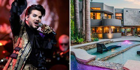 La casa de Adam Lambert