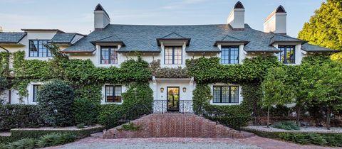 Casa de Adam Levine en Beverly Hills