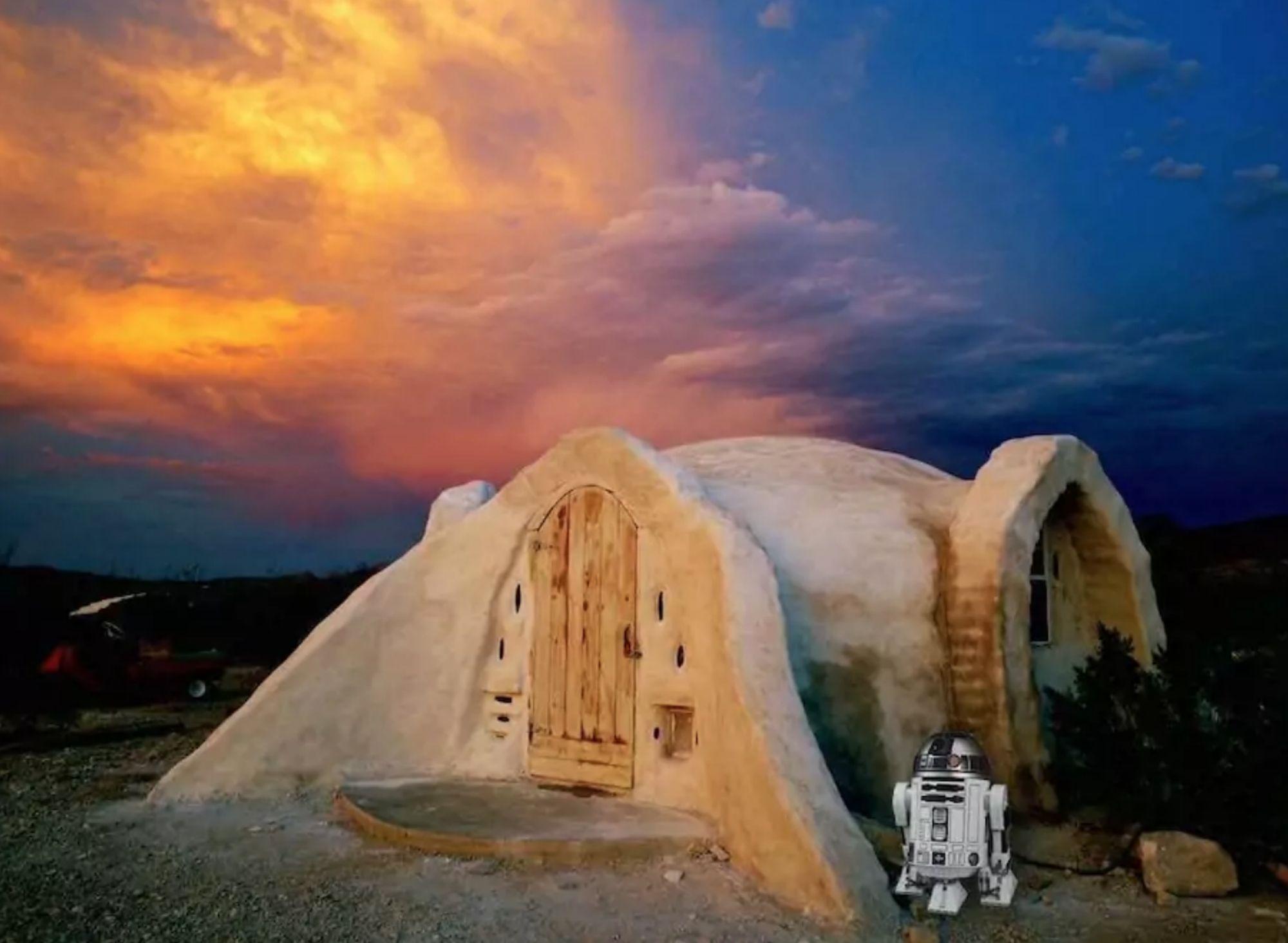 La casa da affittare (subito) per sentirsi sul set di Star Wars