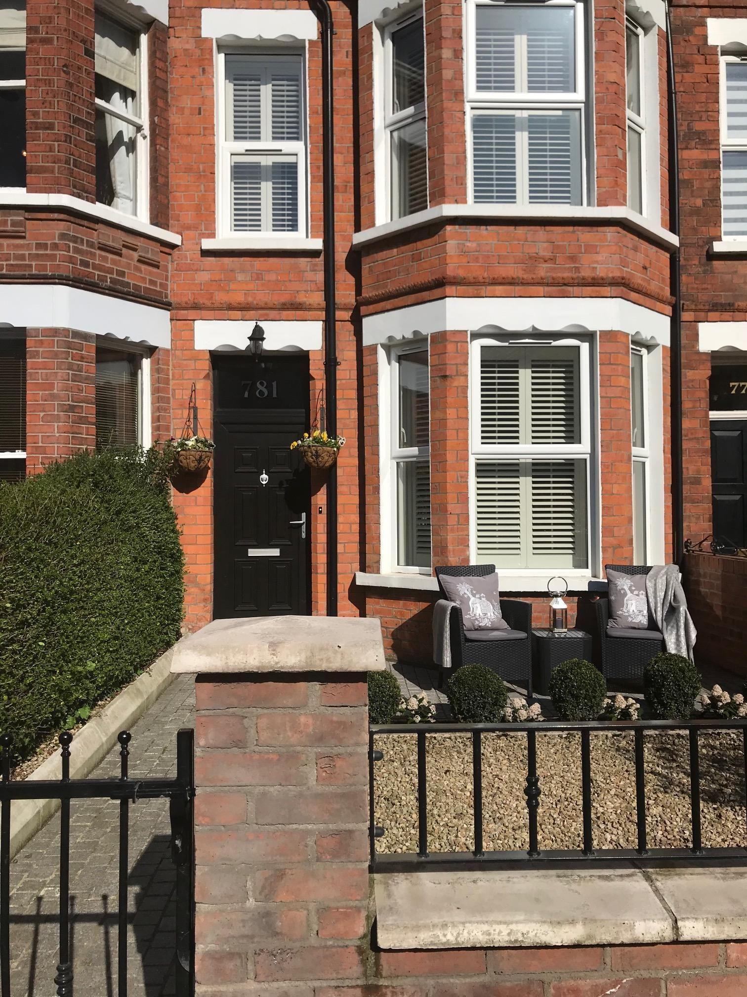 Casa adosada de estilo victoriano en Belfast