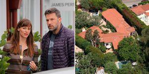 La casa de Ben Afflek y Jennifer Garner