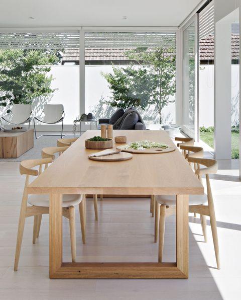 casa blanca melbourne jardin paisaje luz ventanas studio four