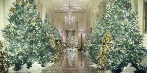 Decoración de Navidad 2019 de la Casa Blanca