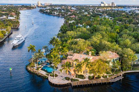 Casa del fundador de Blockbuster en Florida