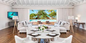 La casa de Bruce Willis y Emma Heming en las Islas Turcas y Caicos