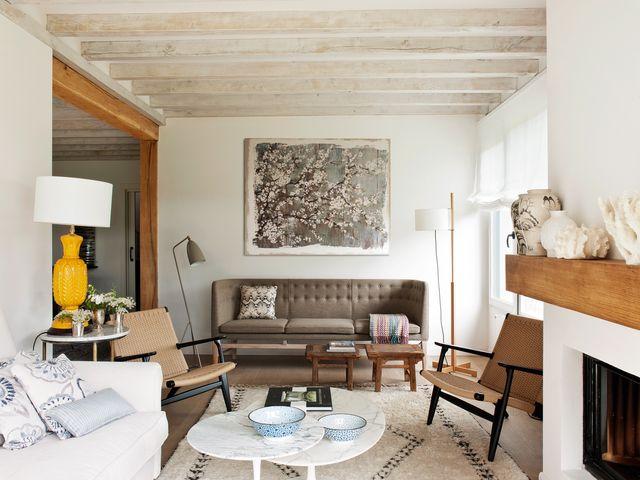 una casa de campo en cantabria con una decoración provenzal, fresca y chic
