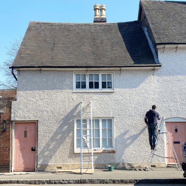 my tiny estate, casa de campo inglaterra restaurada fachada