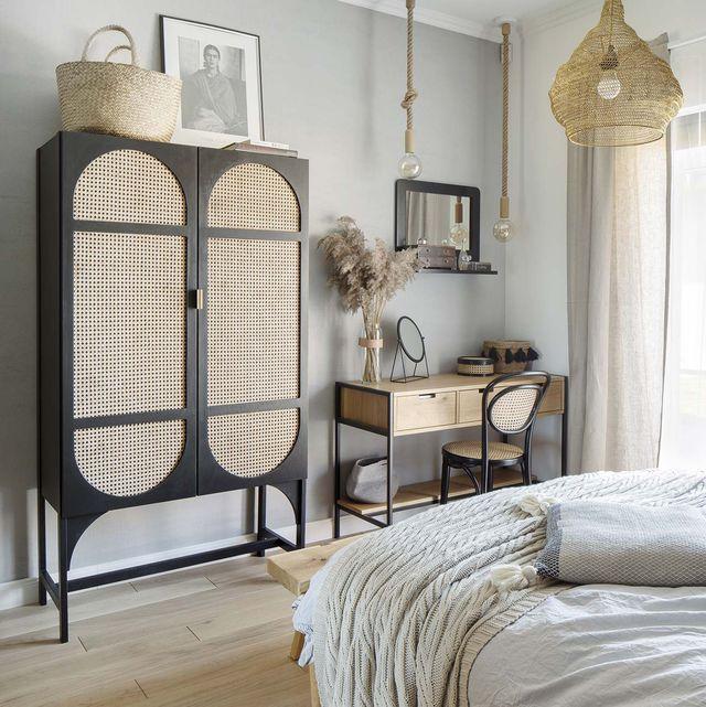 una casa de campo estilo nórdico dormitorio principal