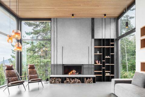 Casa en Canadá de Thellend Fortin Architectes
