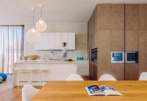 Room, Interior design, Wood, Floor, Flooring, Wall, Ceiling, Home, Furniture, Countertop,