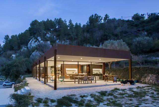technal, casa en la montaña