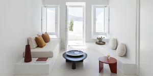 Las cuevas casa en Santorini perfectas para pasar el verano y como telón de fondo blanco para las fotos en Instagram