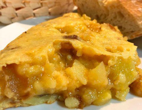 Tortilla de patata del restaurante Casa Dani, Madrid