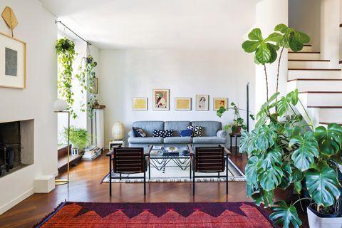 la casa de la diseñadora chiara andreatti