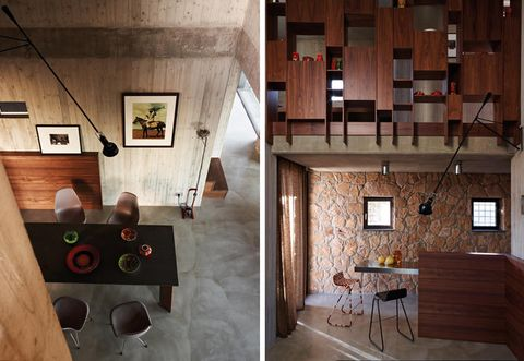 Wood, Room, Interior design, Floor, Ceiling, Hardwood, Wall, Fixture, Interior design, Wood stain,