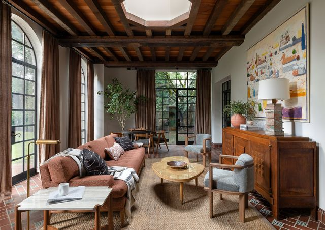 casa en seatle de estilo español