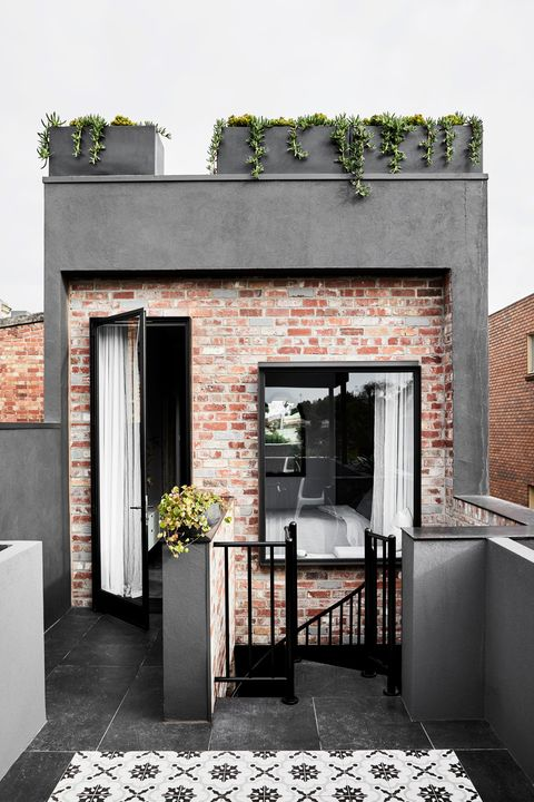 Casa Larga Y Estrecha Kate Challis Interiores