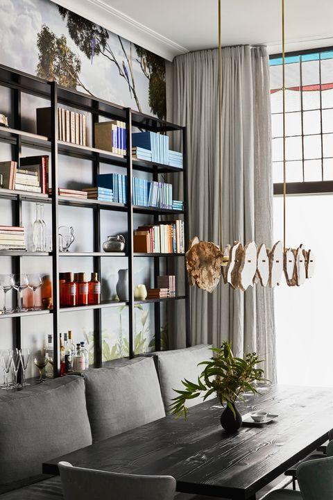 Casa longa e estreita Kate Challis Interiors