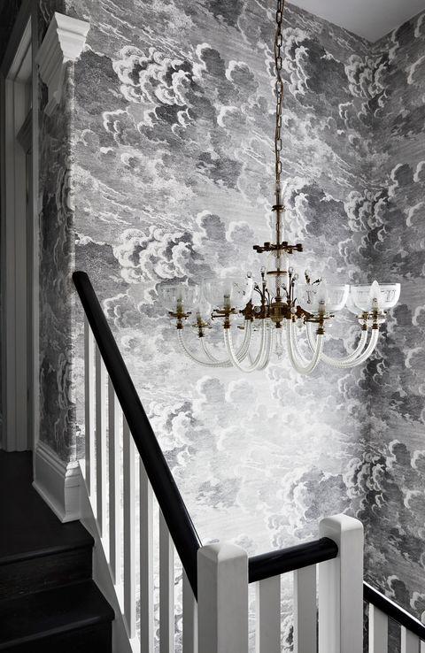 Interiores de Challis de Casa Longa e Estreita Kate