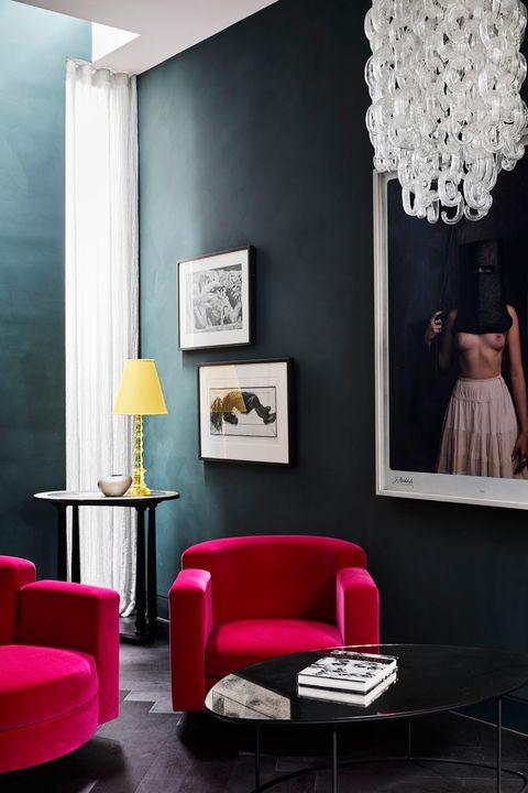 Casa Longa e Estreita Kate Interiores