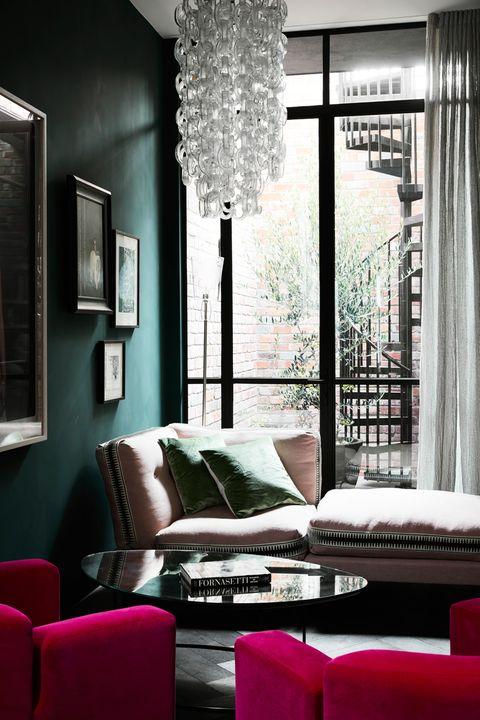 Casa longa e estreita Kate Challis Interiores