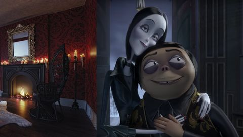 Casa de la Familia Addams en Booking