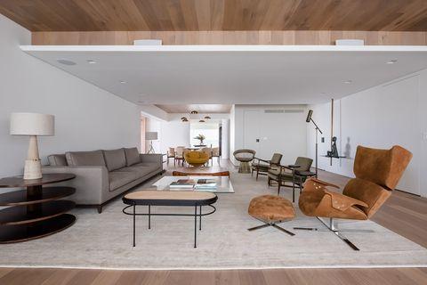 salón abierto de diseño contemporáneo