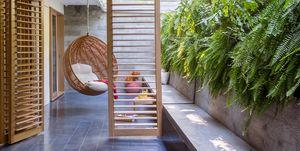 Casa bajafamiliar con piscina, de PKB Arquitetura. Fotos:Denilson Machado y André Nazareth