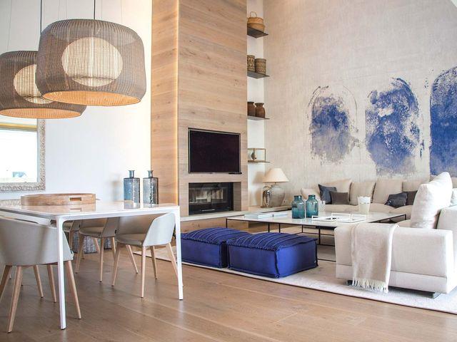 una casa en valencia decorada con estilo mediterraneo