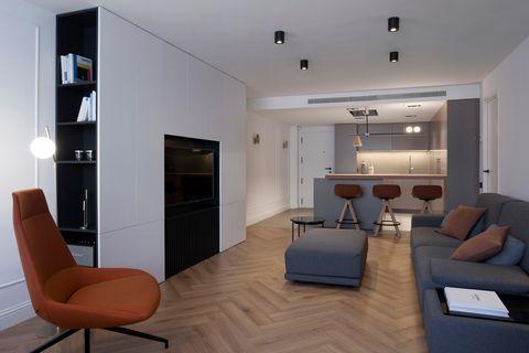 Casa familiar de diseño contemporáneo y minimalista en Valencia