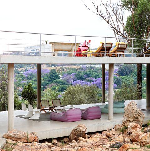 casa en johanesburgo estilo futurista años 50
