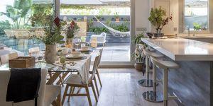 Casa familiar de estilo nórdico en Granada
