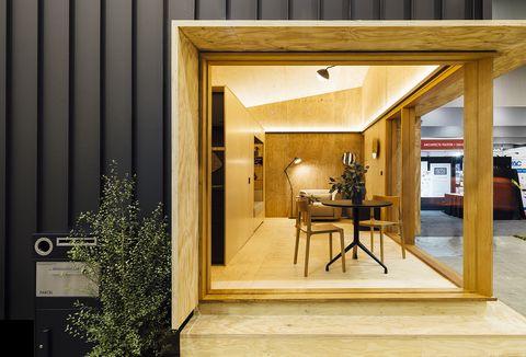 Microcasa de 35 m2