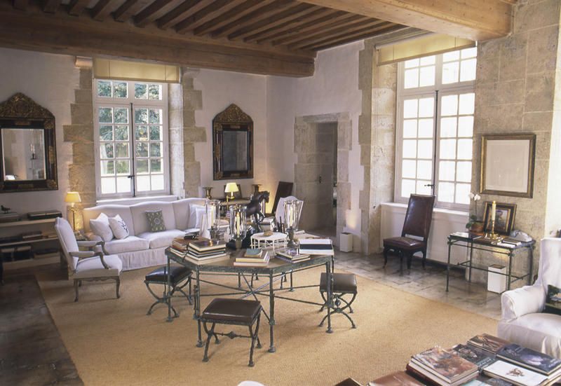 Case Prefabbricate Stile Francese : Le case di hubert de givenchy ecco come erano arredate
