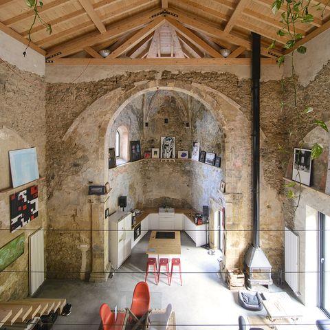 La iglesia de Tas en Sopuerta